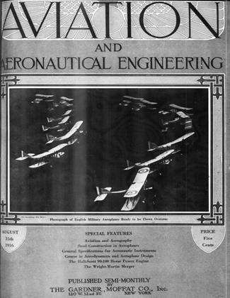 Cover for the August 15 1916 issue