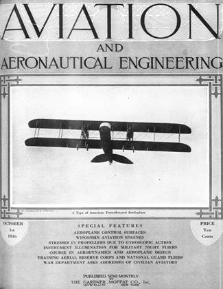 Cover for the October 1 1916 issue
