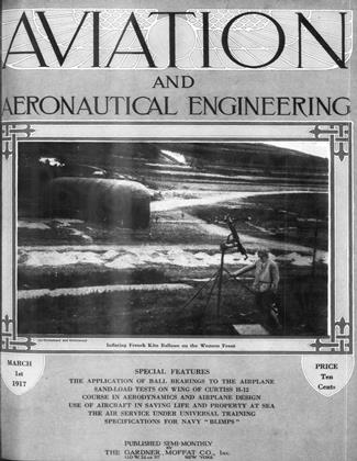 Cover for the March 1 1917 issue
