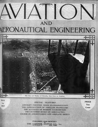 Cover for the May 1 1917 issue
