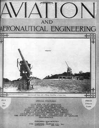 Cover for the July 1 1917 issue