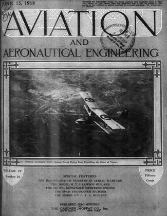 Cover for the June 15 1918 issue