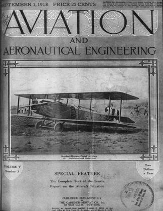 Cover for the September 1 1918 issue