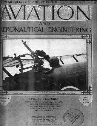 Cover for the September 15 1918 issue