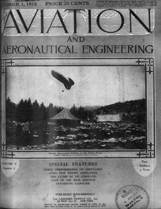 Cover for the October 1 1918 issue