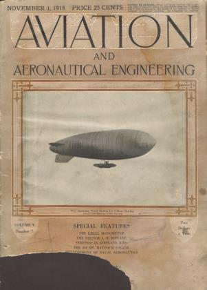 Cover for the November 1 1918 issue