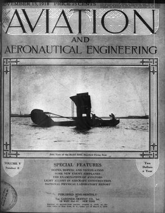 Cover for the November 15 1918 issue