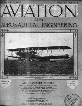 Cover for the January 1 1919 issue