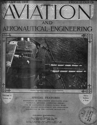 Cover for the January 15 1919 issue