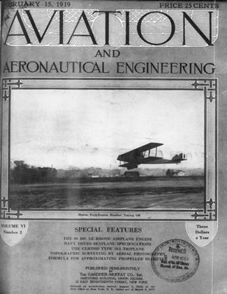 Cover for the February 15 1919 issue