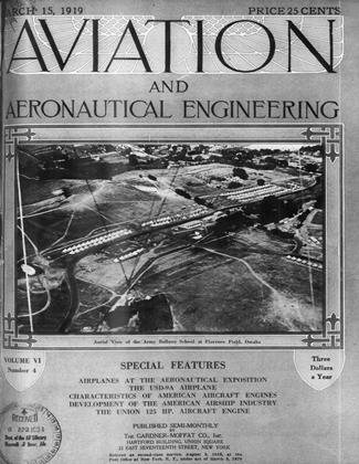 Cover for the March 15 1919 issue