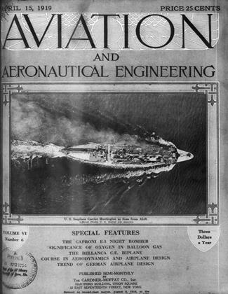 Cover for the April 15 1919 issue
