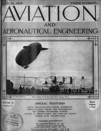 Cover for the May 15 1919 issue
