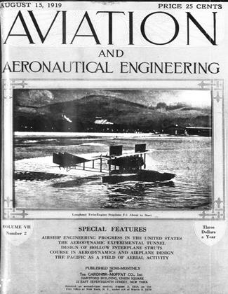 Cover for the August 15 1919 issue