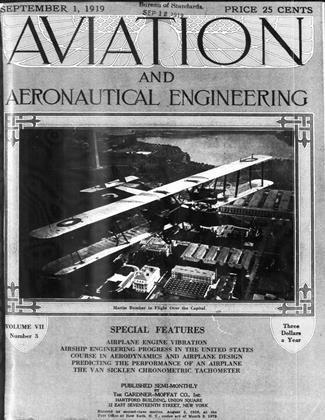 Cover for the September 1 1919 issue