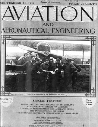 Cover for the September 15 1919 issue