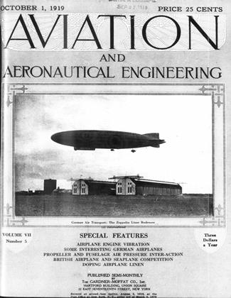 Cover for the October 1 1919 issue