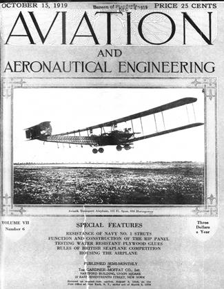 Cover for the October 15 1919 issue