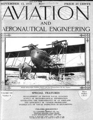 Cover for the November 15 1919 issue