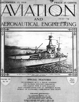 Cover for the December 15 1919 issue