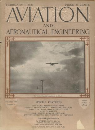 Cover for the February 1 1920 issue
