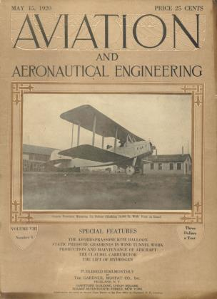 Cover for the May 15 1920 issue