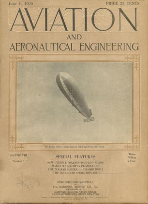 Cover for the June 1 1920 issue