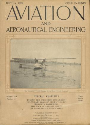 Cover for the July 15 1920 issue