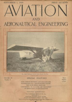 Cover for the September 1 1920 issue