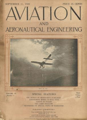 Cover for the September 15 1920 issue
