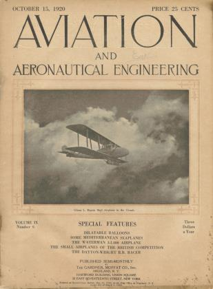 Cover for the October 15 1920 issue