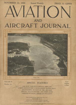 Cover for the November 22 1920 issue