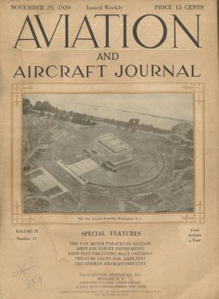 Cover for the November 29 1920 issue