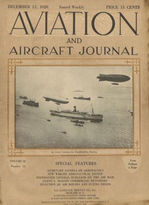 Cover for the December 13 1920 issue