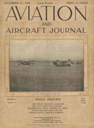 Cover for the December 27 1920 issue