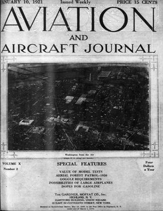 Cover for the January 10 1921 issue