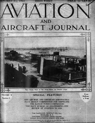 Cover for the January 17 1921 issue