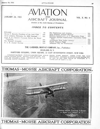 Cover for the January 24 1921 issue