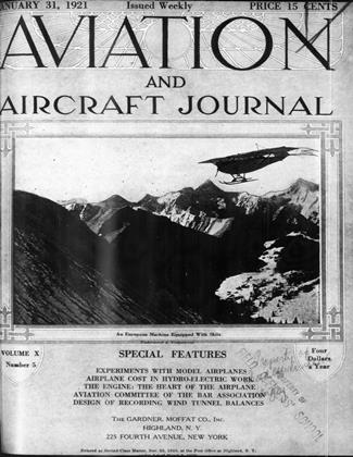 Cover for the January 31 1921 issue