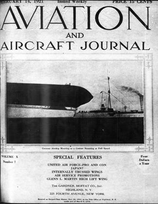 Cover for the February 14 1921 issue