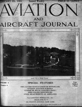 Cover for the February 21 1921 issue