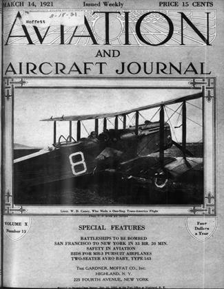 Cover for the March 14 1921 issue