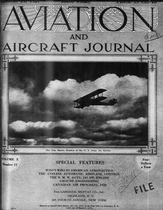 Cover for the March 21 1921 issue