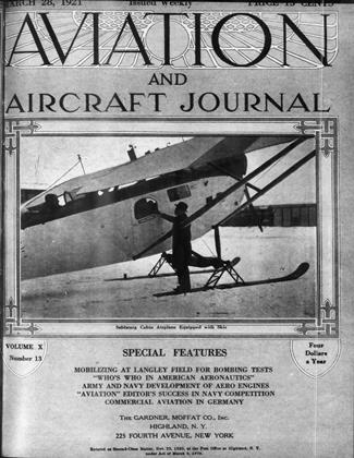 Cover for the March 28 1921 issue