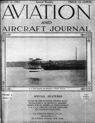 Cover for the April 4 1921 issue