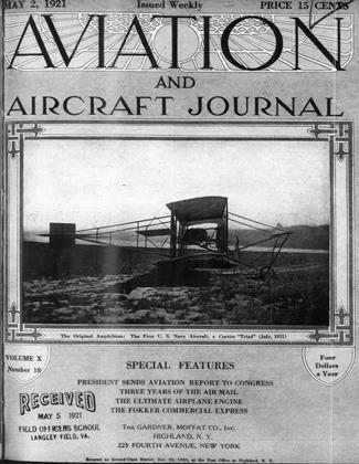 Cover for the May 2 1921 issue