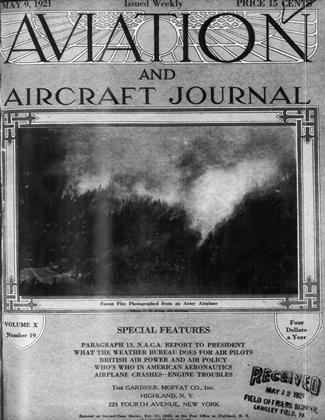 Cover for the May 9 1921 issue