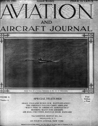 Cover for the May 23 1921 issue