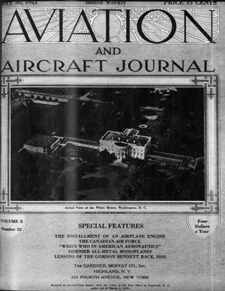 Cover for the May 30 1921 issue