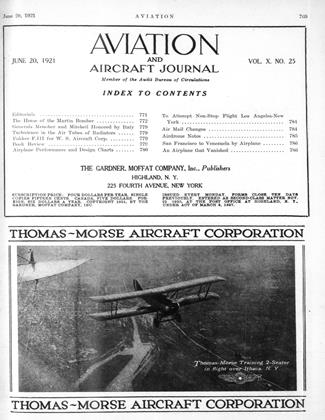 Cover for the June 20 1921 issue